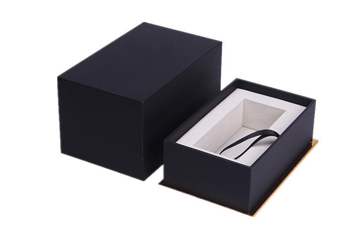 Custom Luxury Handmade Paper Watch Box Rectangle Dustproof Eco - Friendly
